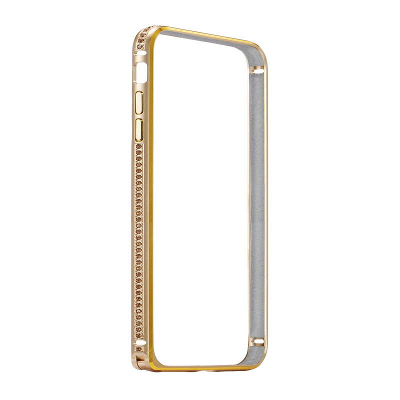 COTEetCI Diamond Bumper for iPhone 7 Plus Gold