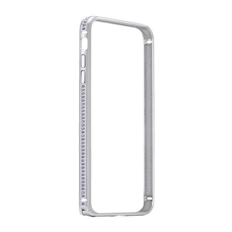 COTEetCI Diamond Bumper for iPhone 7 Plus Silver