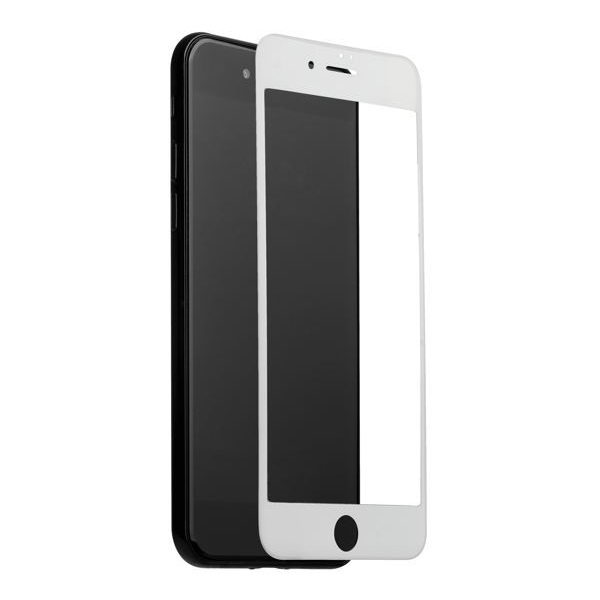 COTEetCI Glass iPhone 6 Plus silk screen printed full-screen white (CS2068-WH)