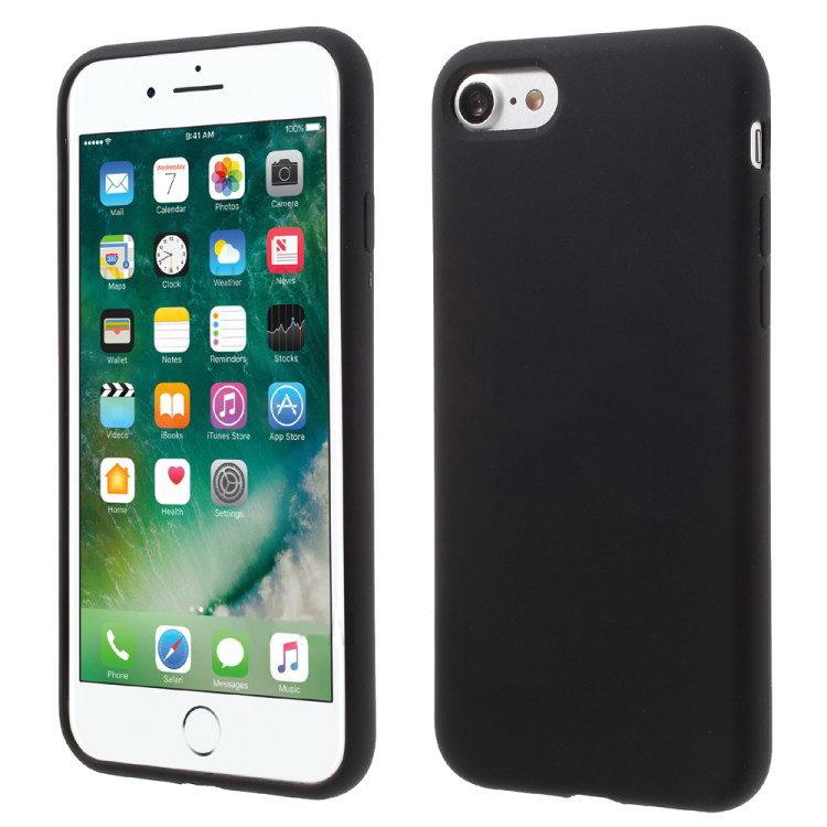 COTEetCI Silicone Case for iPhone 7/8/SE 2020 Black