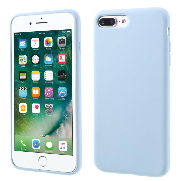 COTEetCI Silicone Case for iPhone 7 Plus Blue (CS7018-LC)