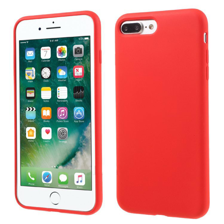 COTEetCI Silicone Case for iPhone 7 Plus Red