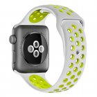 COTEetCI W12 Apple Watch Nike band 38mm Grey/Yellow (WH5216-TS-YL)