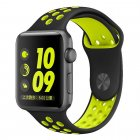 COTEetCI W12 Apple Watch Nike band 42mm Black/Yellow (WH5217-BK-YL)