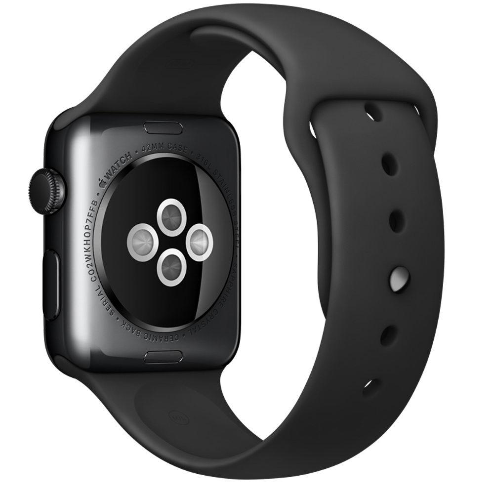 COTEetCI W3 Sport Band for Apple Watch 38/40mm Black (CS2085-BK)