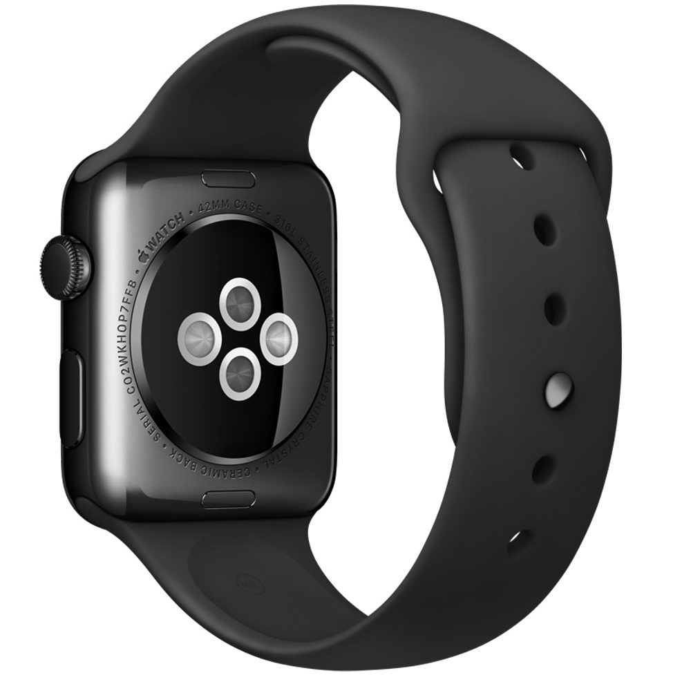 COTEetCI W3 Sport Band for Apple Watch 42mm Black (CS2086-BK)