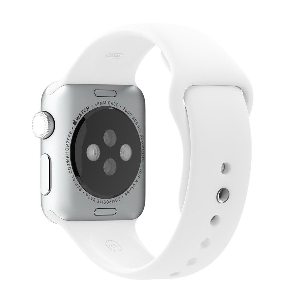 COTEetCI W3 Sport Band for Apple Watch 38mm White