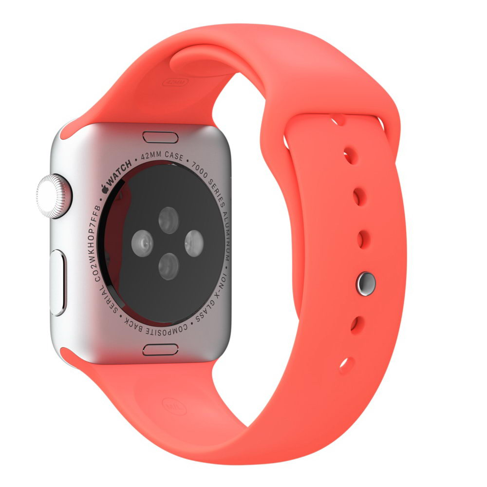 COTEetCI W3 Sport Band for Apple Watch 38mm Red