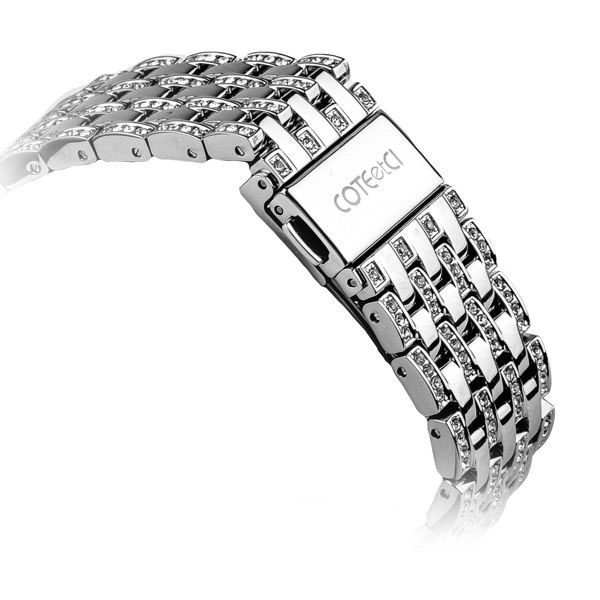 COTEetCI W4 Magnificent Watchband For Apple Watch 42mm Silver
