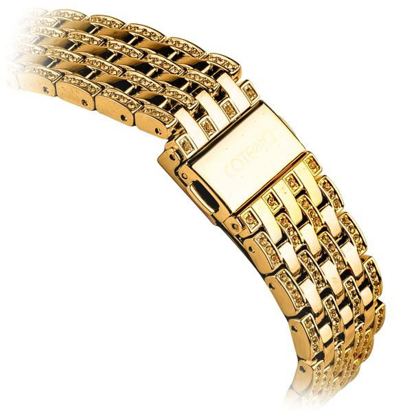 COTEetCI W4 Magnificent Watchband For Apple Watch 42mm Gold