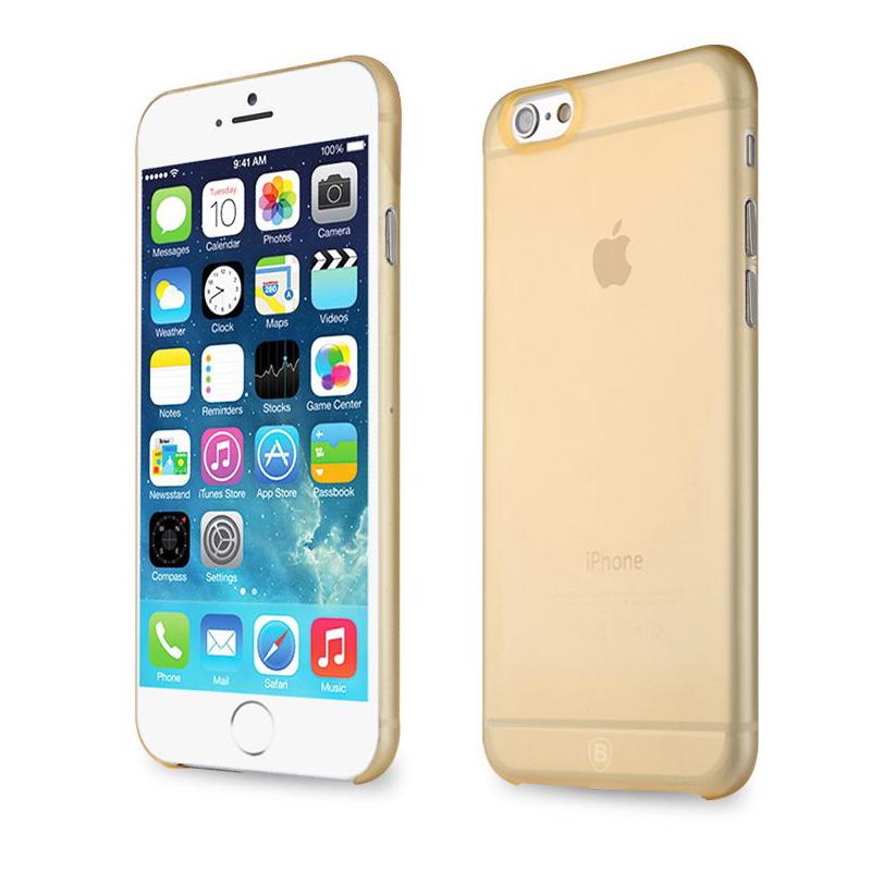 "Baseus Slim Case Gold for iPhone 6 4.7"""