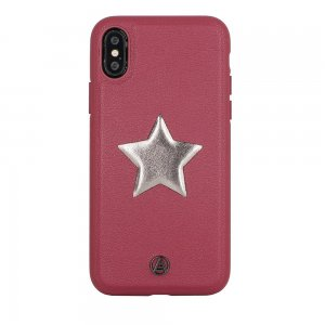 Luna Aristo Astro for iPhone X/XS Maroon Red (LA-IPXSTAR-RED)