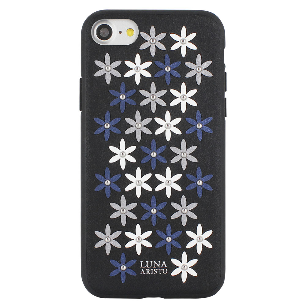 Luna Aristo Daisies Case Black For iPhone 7/8/SE 2020 (LA-IP8DAS-BLK)