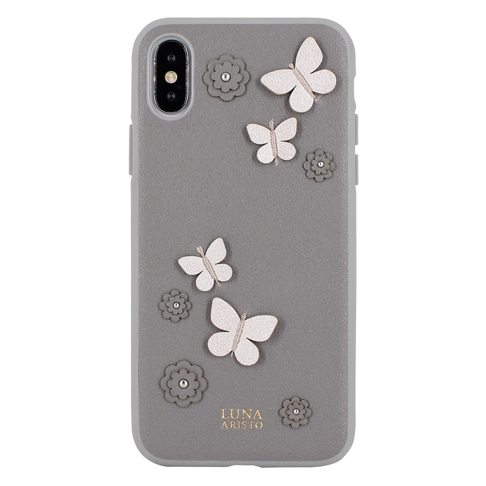 Luna Aristo Dale Case Grey For iPhone X/XS (LA-IPXDAL-GRY)