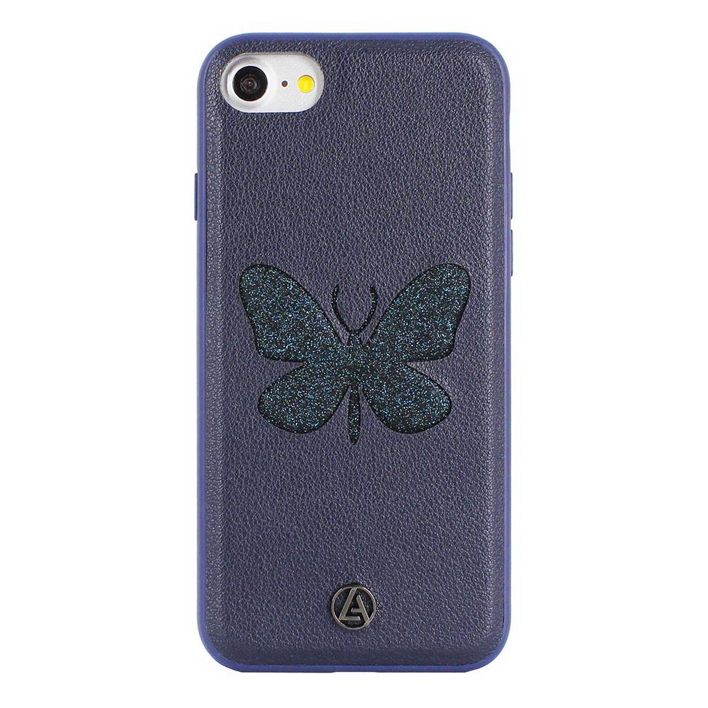 Luna Aristo Farfalla for iPhone 7/8/SE 2020 Blue Copper Blue (LA-IP7BTF-BLU)