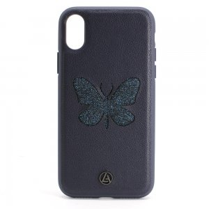 Luna Aristo Farfalla for iPhone X/XS Blue Copper Blue (LA-IPXBTF-BLU)