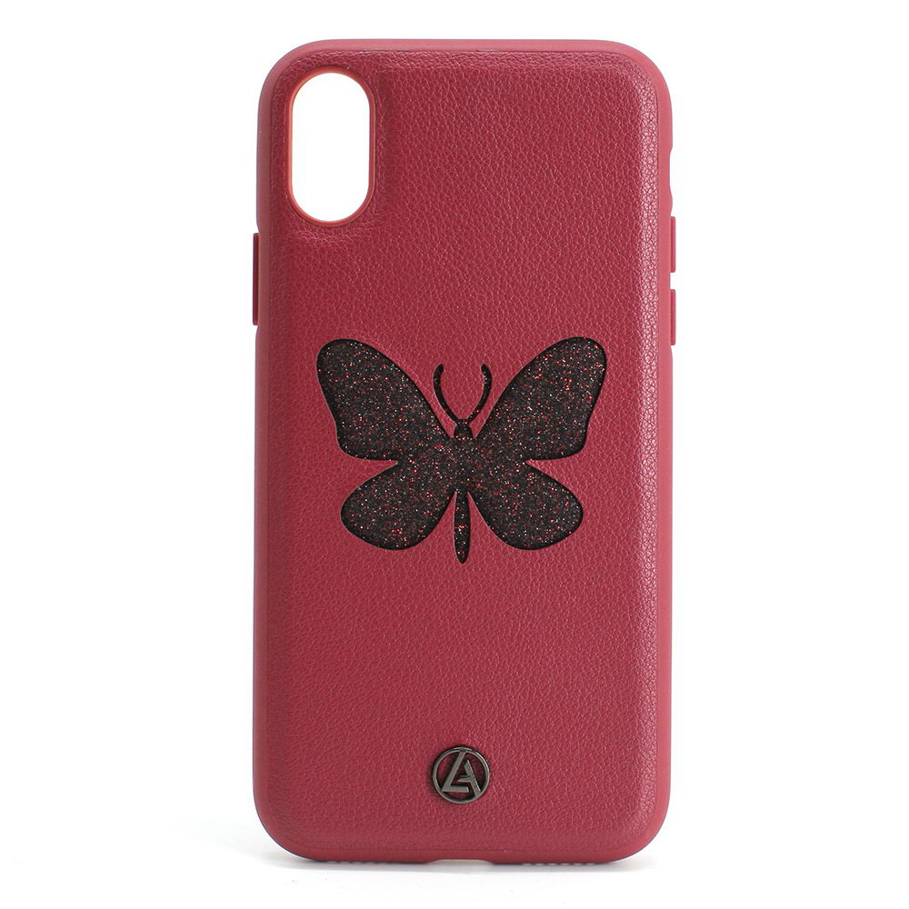 Luna Aristo Farfalla for iPhone X/XS Skipper Red (LA-IPXBTF-RED)