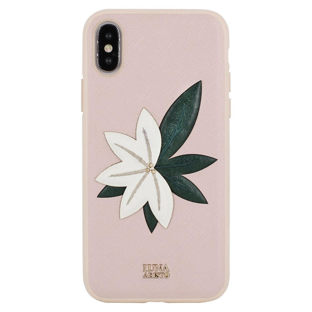 Luna Aristo Phyllis Case Pink For iPhone X/XS (LA-IPXSPPHY-PNK)