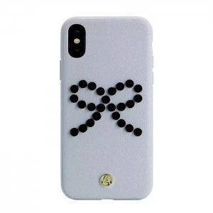 Luna Aristo Prima Donna for iPhone X/XS Punk Grey (LA-IPXBOW-GRY)