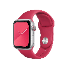 COTEetCI W3 Sport Band for Apple Watch 42/44mm Wine Red (WH2086-WR)