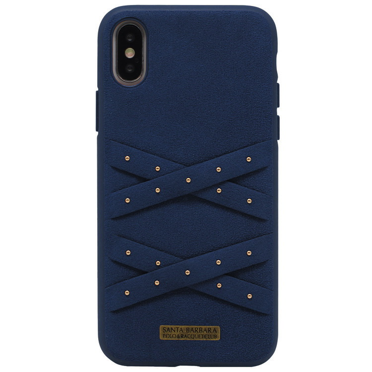 Polo Abbott For iPhone XS Navy (SB-IP5.8SPABT-NVY)