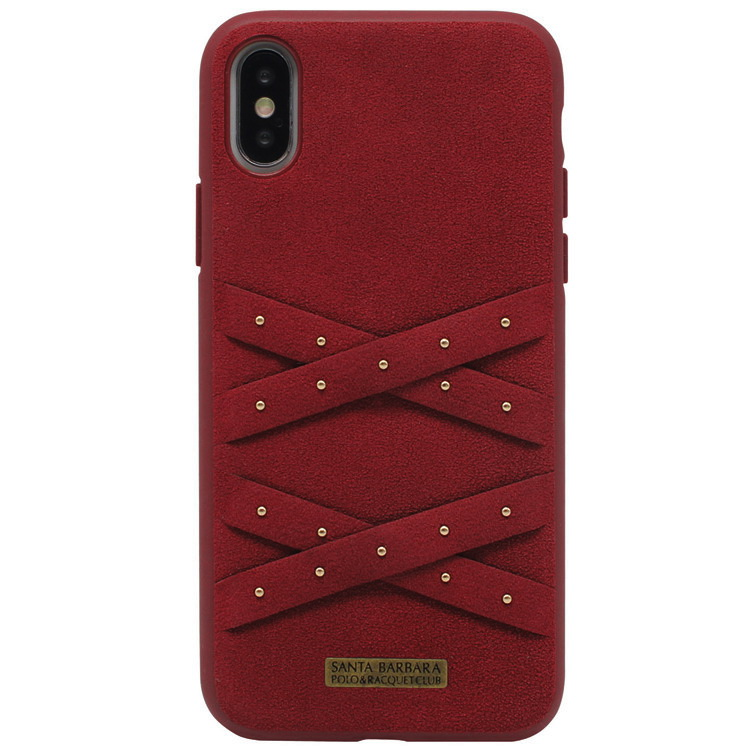 Polo Abbott For iPhone XS Red (SB-IP5.8SPABT-RED)