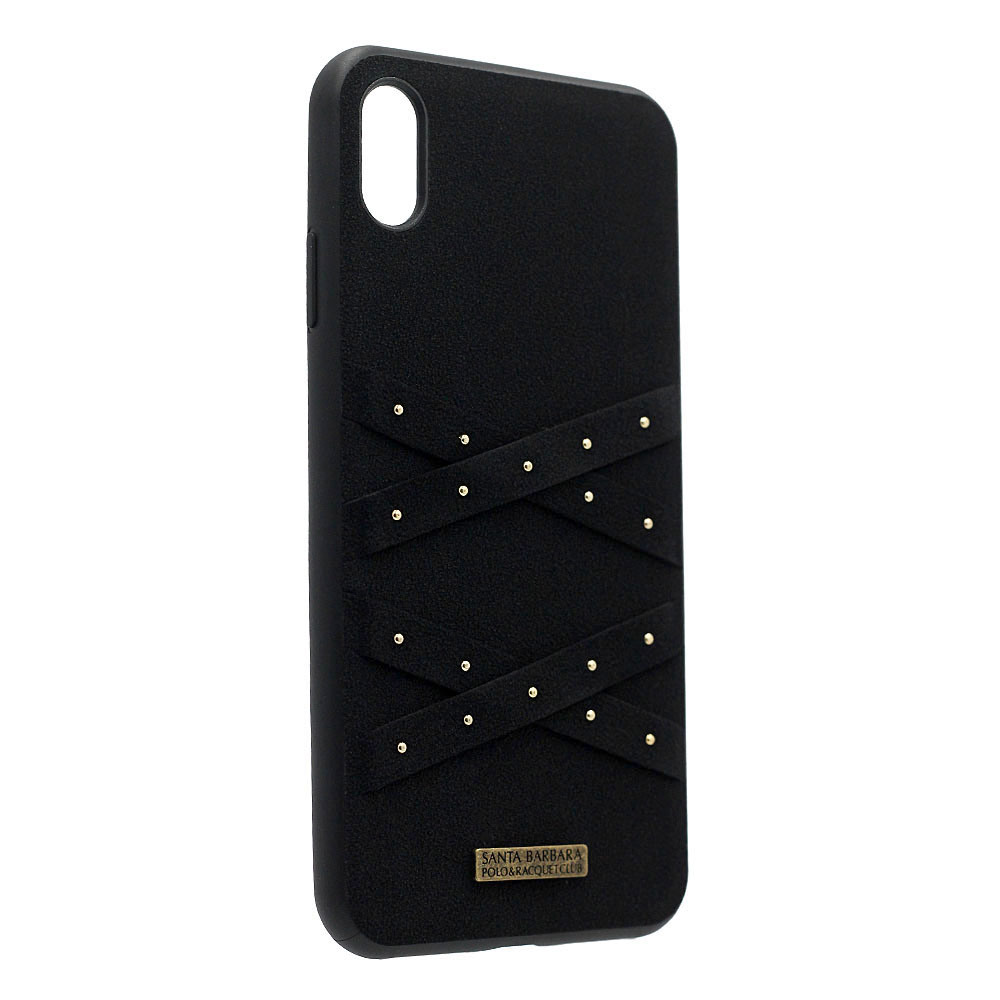 Polo Abbott For iPhone XS Max Midnight (SB-IP6.5SPABT-BLK)