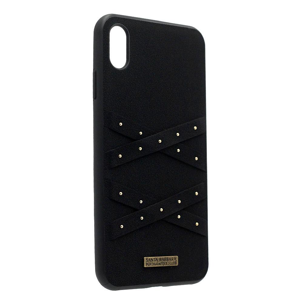 Polo Abbott For iPhone XS Max Midnight (SB-IP6.5SPABT-BLK)