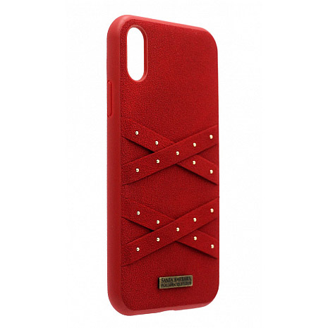 Polo Abbott For iPhone XS Max Red (SB-IP6.5SPABT-RED)