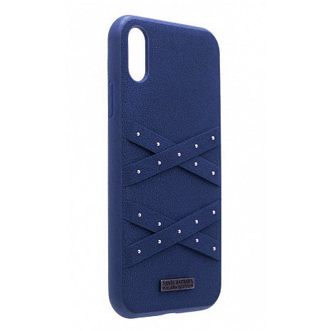 Polo Abbott For iPhone XS Max Navy (SB-IP6.5SPABT-NVY)