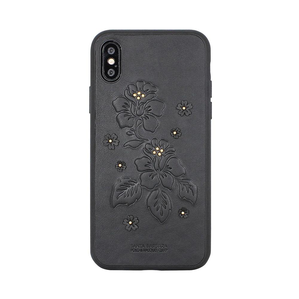 Polo Azalea Case Black For iPhone X/XS (SB-IPXSPAZA-BLK)