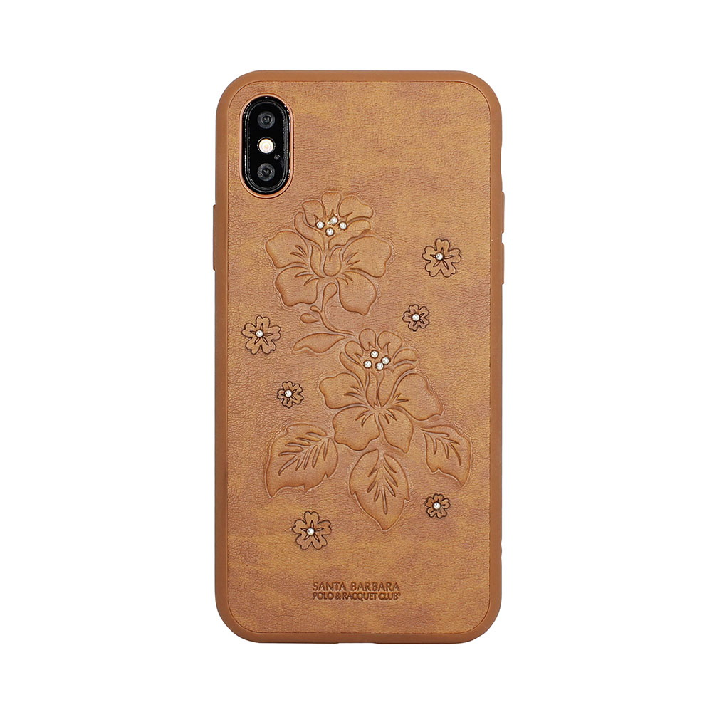 Polo Azalea Case Brown For iPhone X/XS (SB-IPXSPAZA-BRW)