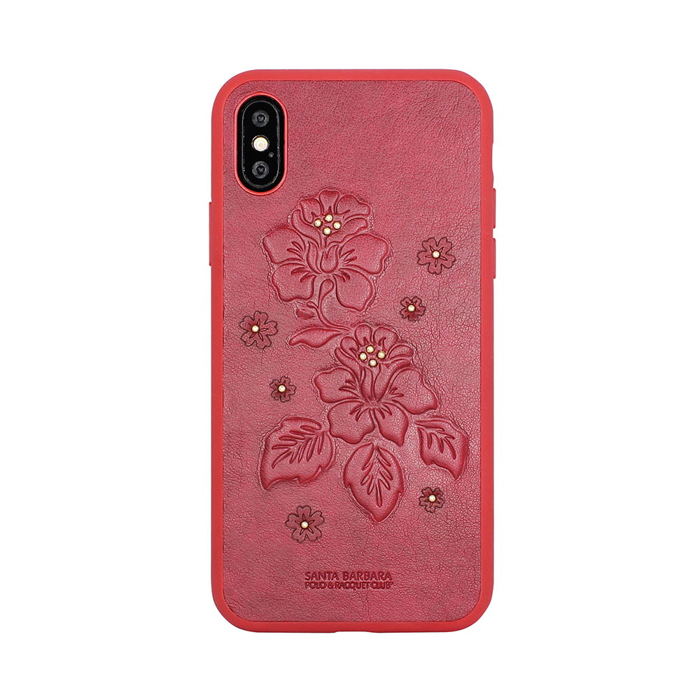 Polo Azalea Case Red For iPhone X/XS (SB-IPXSPAZA-RED)