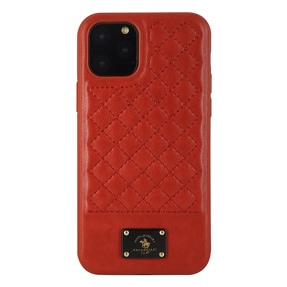 Polo Bradley Case For iPhone 11 Pro Max Red