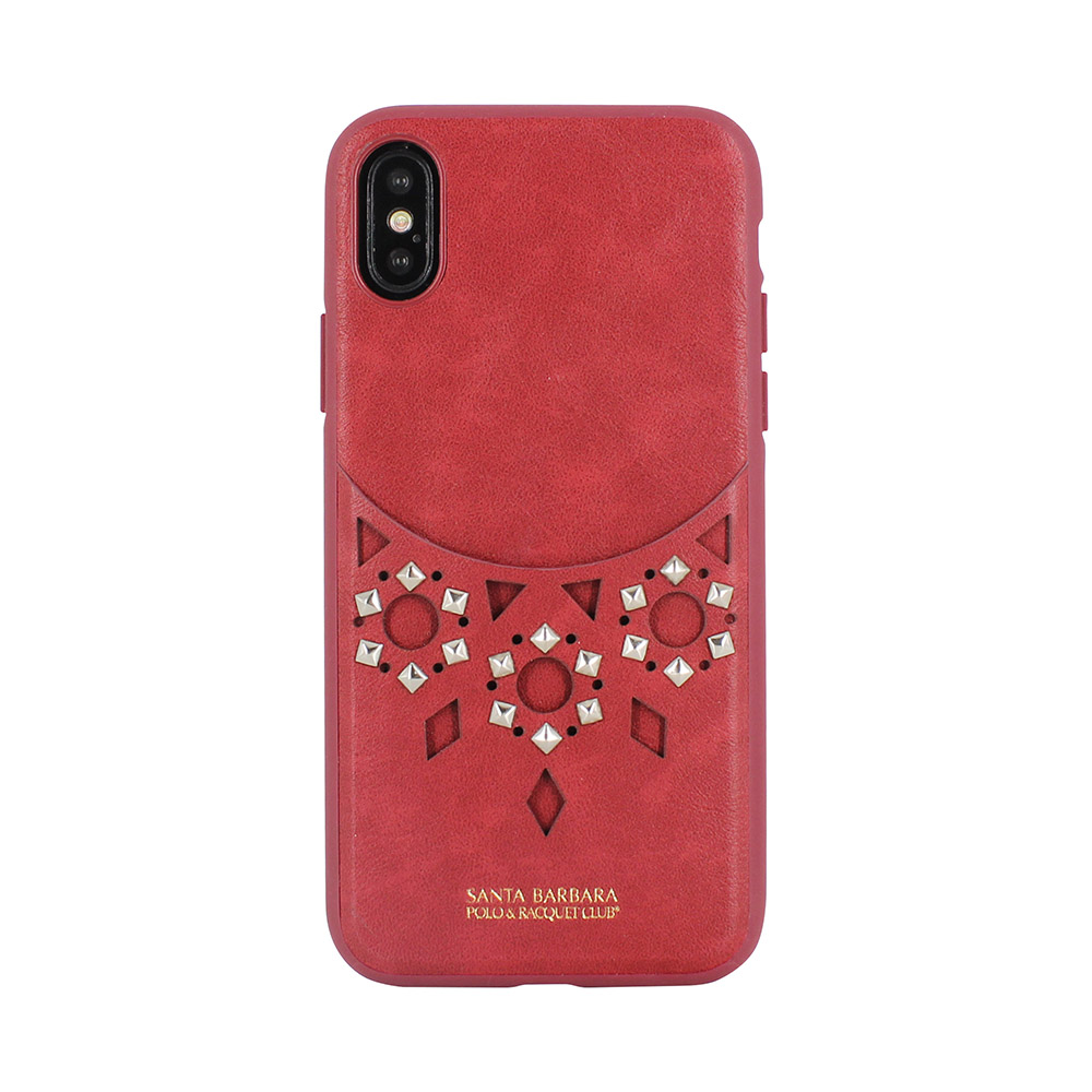 Polo Brynn Case Red For iPhone X/XS (SB-IPXSPBRN-RED)