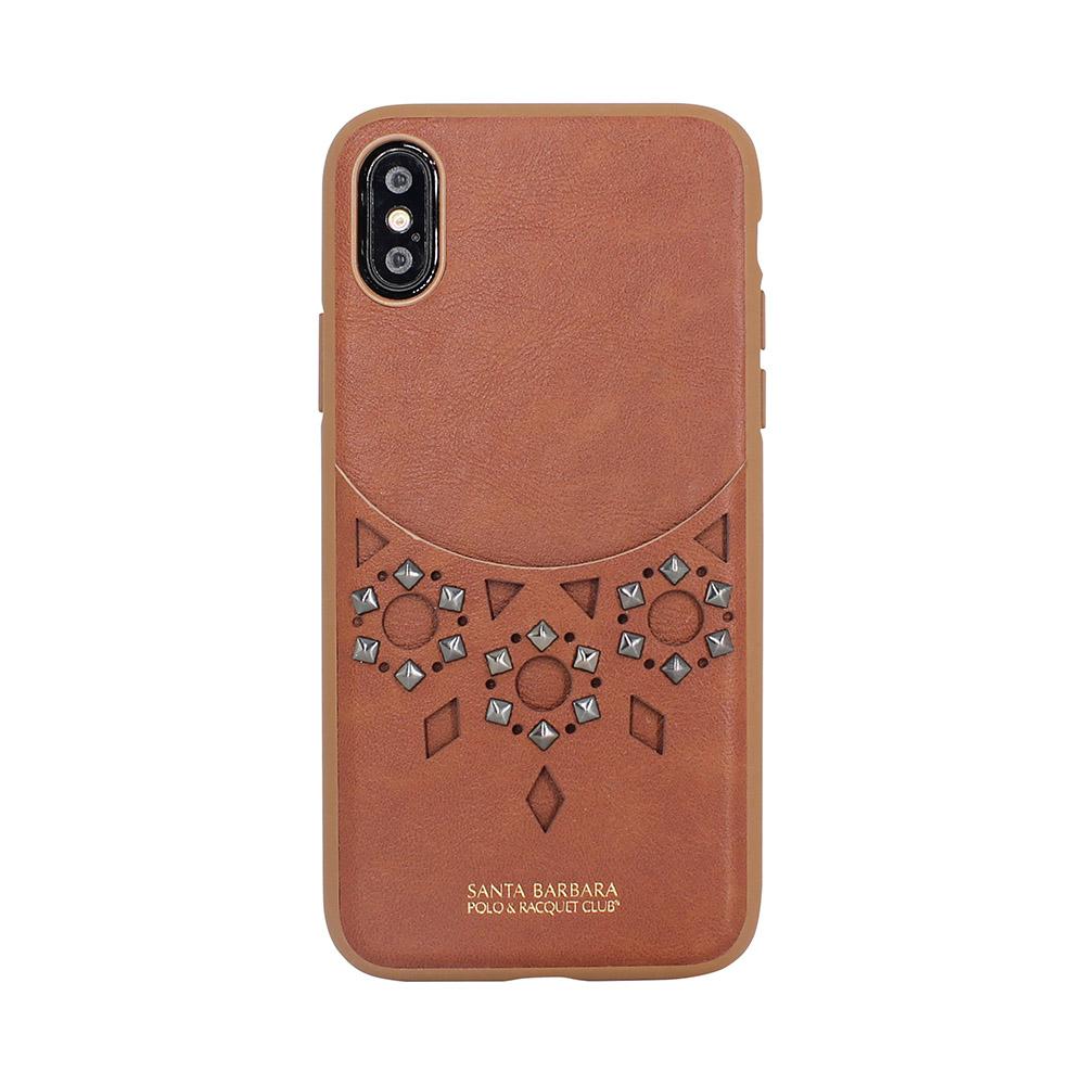 Polo Brynn Case Brown For iPhone X/XS (SB-IPXSPBRN-BRW)