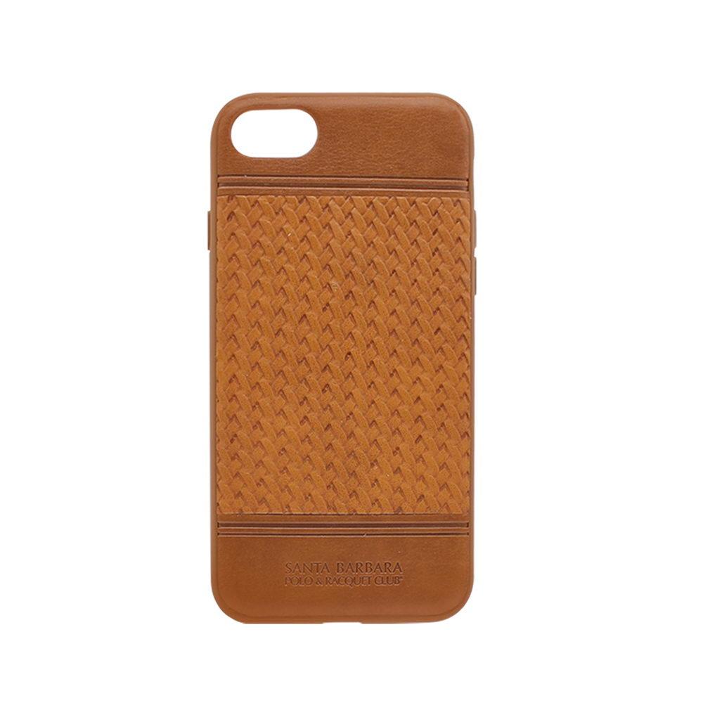 Polo Chevron For iPhone 7/8 Plus Brown (SB-IP7SPCHR-BRW-1)