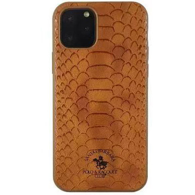Polo Knight Case For iPhone 11 Pro Brown