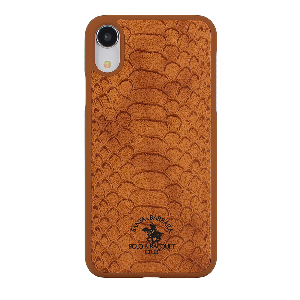 Polo Knight Brown For iPhone XR