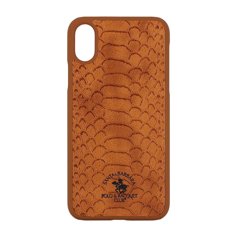 Polo Knight For iPhone X/XS Brown (SB-IPXSPKNT-BRW)