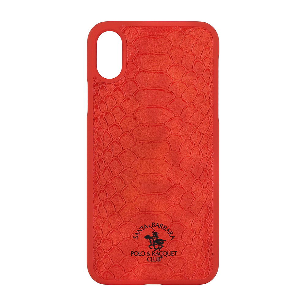 Polo Knight For iPhone X/XS Red (SB-IPXSPKNT-RED)