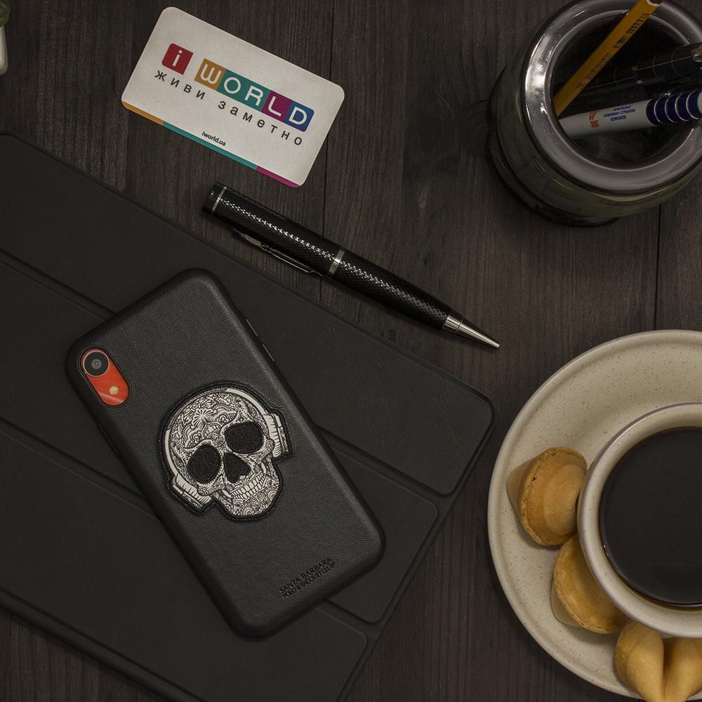 Polo Patti For iPhone XR Black (SB-IP6.1SPPAT-BLK)