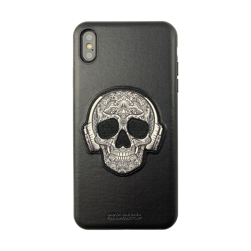 Polo Patti For iPhone XS Max Black (SB-IP6.5SPPAT-BLK)