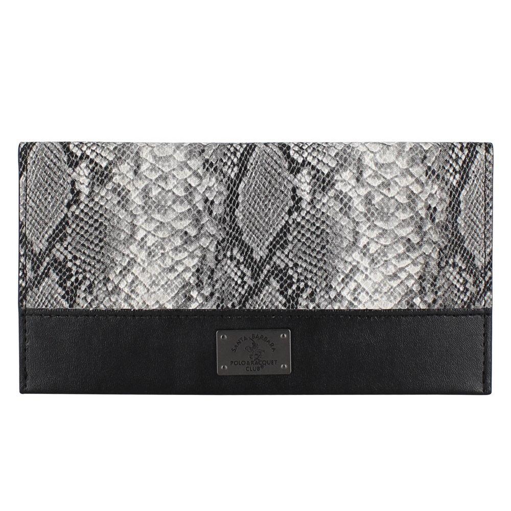 Polo Piton wallet For iPhone X/XS Black (SB-SPWALLET-PITBLK)