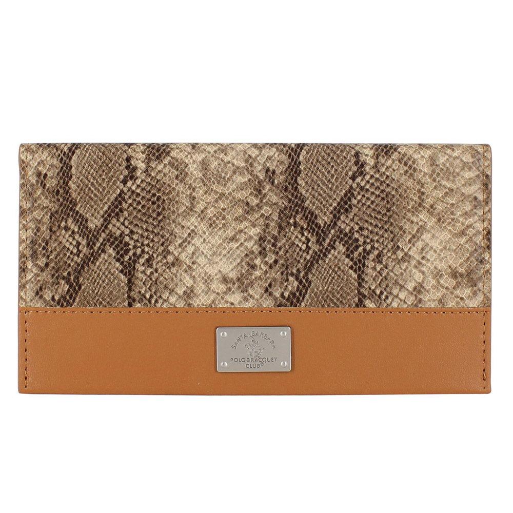Polo Piton wallet For iPhone X/XS Brown (SB-SPWALLET-PITBRW)