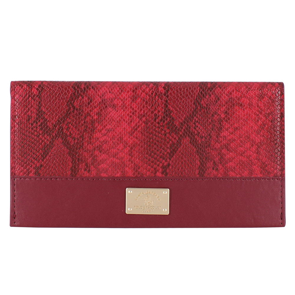 Polo Piton wallet For iPhone X/XS Red (SB-SPWALLET-PITRED)