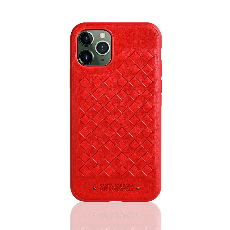 Polo Ravel Case For iPhone 11 Pro Max Red