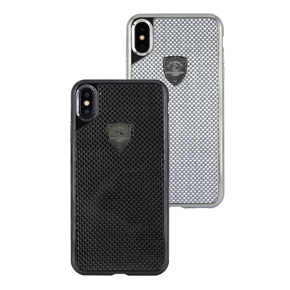 Polo Rev For iPhone XS Max Gun Grey (SB-IP6.5SPREV-GRY)