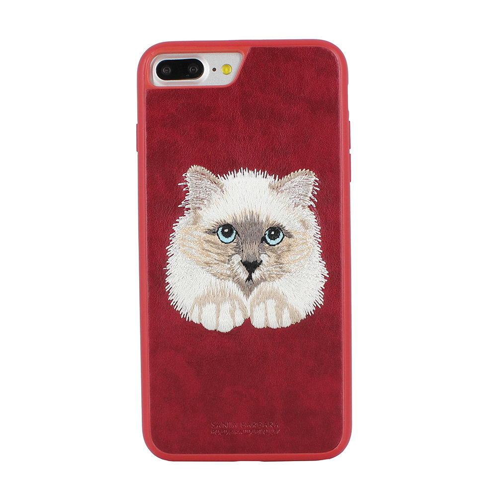 Polo Savanna Persian Paw For iPhone 7/8 Plus Red (SB-IP7SPSAV-CAT-1)