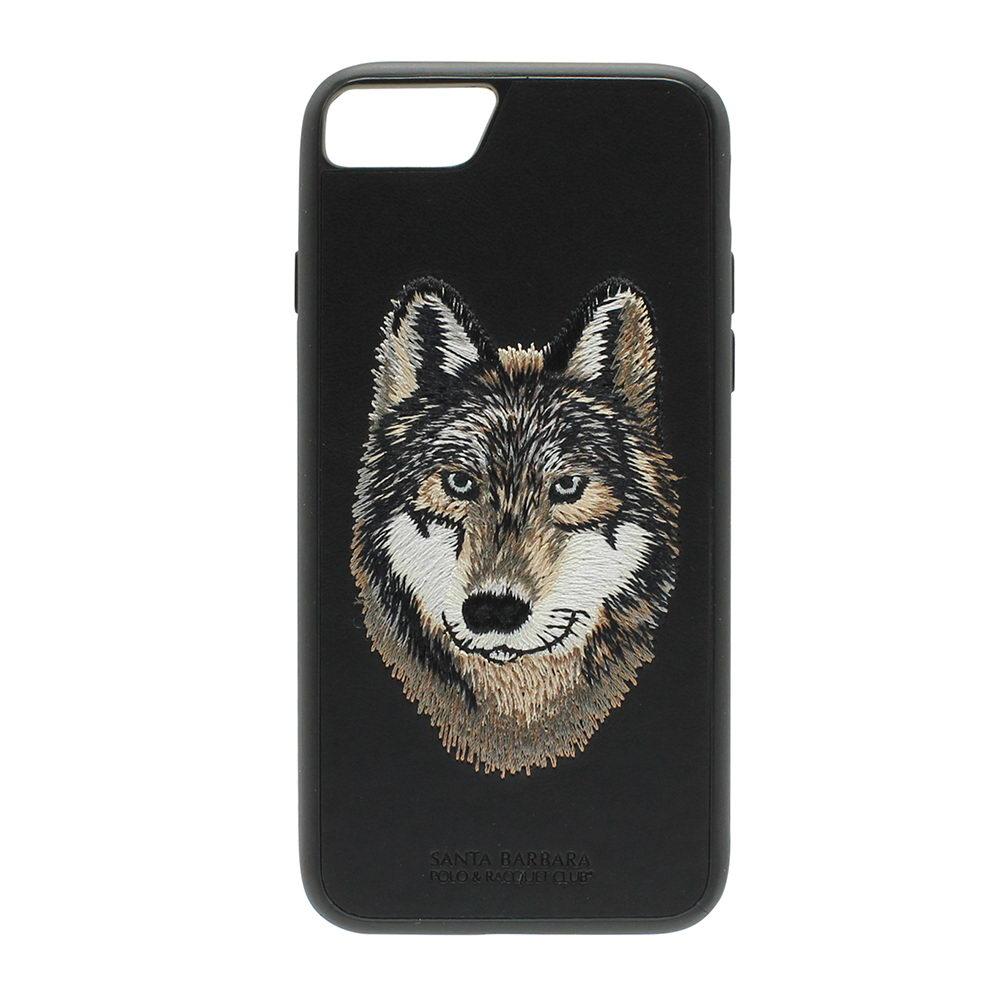 Polo Savanna lberian Wolf For iPhone 7/8 Plus Black (SB-IP7SPSAV-WOF-1)